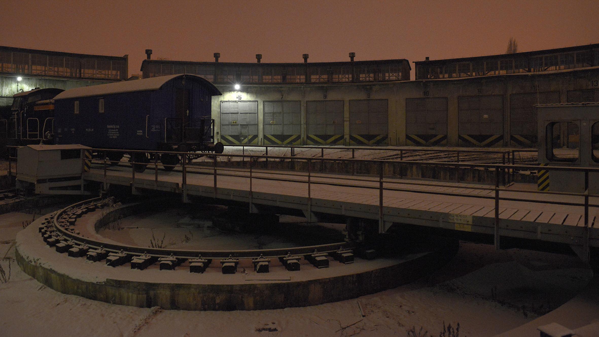 Lokomotywownia train depot